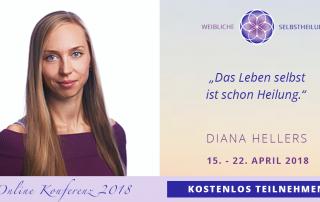 Diana Hellers Weibliche Selbstheilung Konferenz
